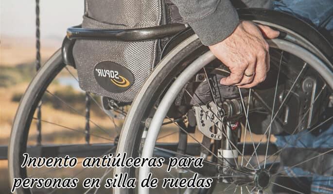 Invento antiúlceras para personas en silla de ruedas